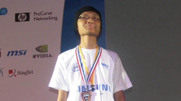 girlyluck placed third in WarCraft III at WCG Singapore 2009, his last tournament