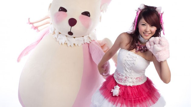 Kanny Theng, Monster Forest's newly appointed celebrity GM, with her Angel Bear
