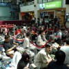 More fans gathered indoors at Funan DigitaLife Mall waiting to get their copies of Halo: Reach