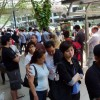 Fans lining up outside Funan DigitaLife Mall today to get their copies of Halo: Reach at the consumer launch today