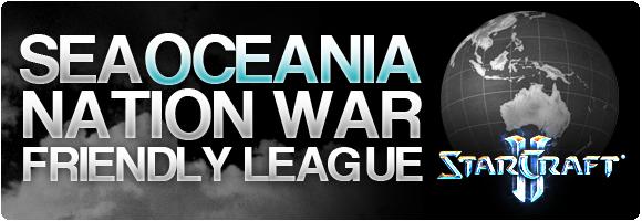 SEA/Oceania Nation War Friendly League
