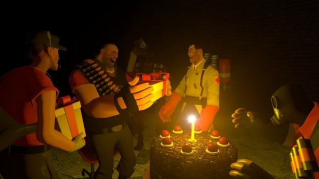 Team Fortress 2: Cake is NOT a lie