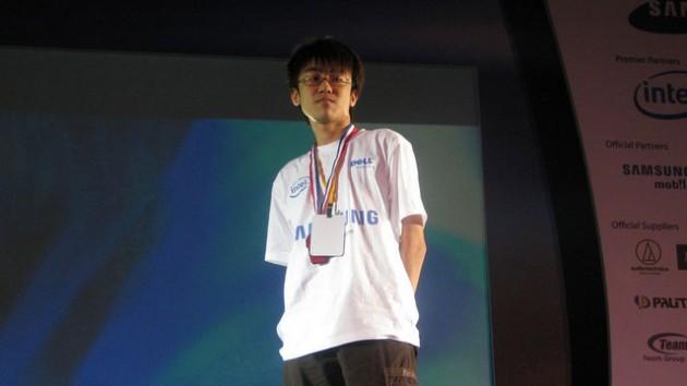 "Marcus ""Revenant"" Tan @ WCG 2009"