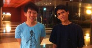 "Curren ""Tax"" Seow (left) and Yu-Sheng ""Farpenoodle"" Tan"