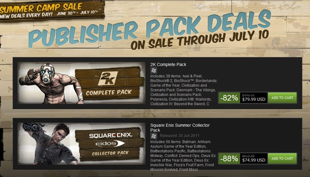 Steam publisher pack deals... Mmmm.