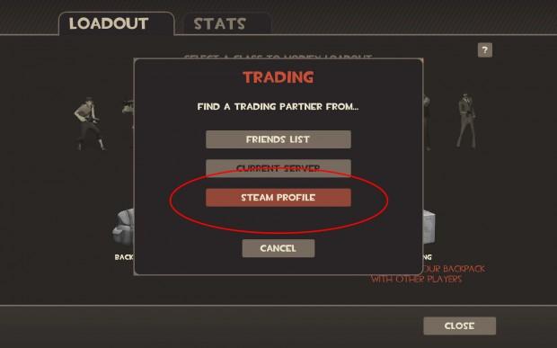 TF2 item trading