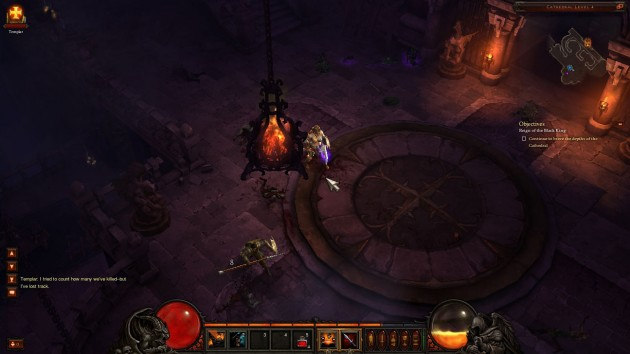 Diablo III closed beta features dark and grimy graphics, just like it should.