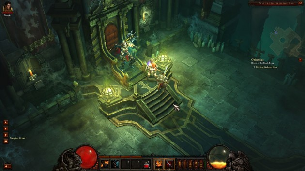 Diablo III closed beta Leoric