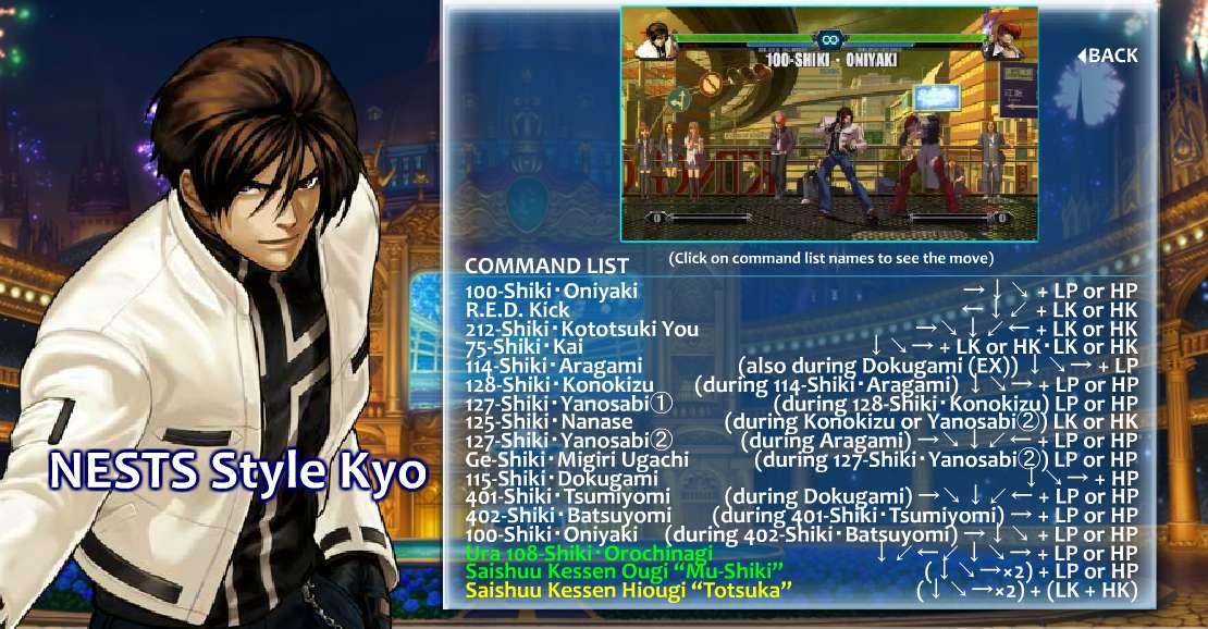 New Kofxiii Dlc Character Revealed Nests Kyo No Game No Talk