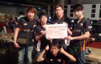 Orange Esports Dota team at India Gaming Carnival