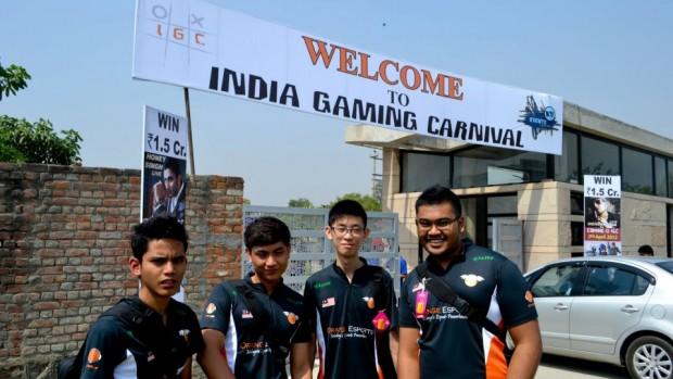 Orange Esports at India Gaming Carnival