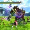 Screenshot of a battle in Ragnarok Odyssey