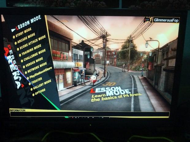 P4A menu