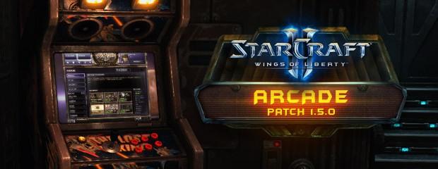 StarCraft II 1.5.0 Arcade patch