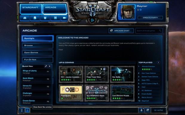 StarCraft II - Arcade screenshot