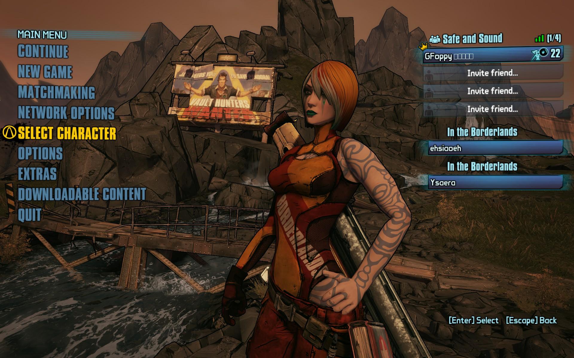 Borderlands 2 matchmaking higher levels