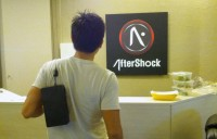 AFTERSHOCK PC marketing manager Joe Wee carries a heavy burden on his shoulders.