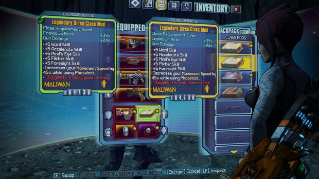 Borderlands 2 - item duping