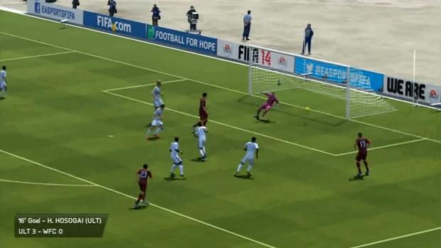 FIFA 14 - replay goal