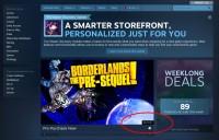 Steam SG prices reverted