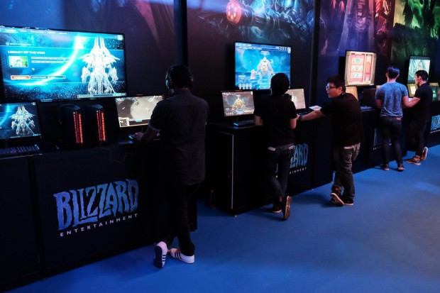 Blizzard booth GameStart 3